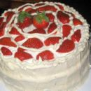 Strawberries-And-Cream Cake