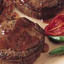 Tenderloin Steaks with Pepper Jelly Sauce
