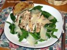 Grilled Chicken Breasts with Salad