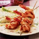 Grilled Shrimp with Bacon