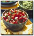 Roasted Tomato and Mint Salsa