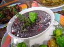 Spicy Hot Black Beans and Tomatoes