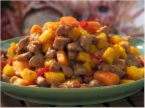 SWEET AND SPICY PORK STIR-FRY