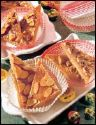 Almond-Toffee Triangles