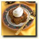 Apple Cake with Caramel Sauce