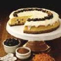 CarrotN Raisin Cheesecake