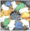 "Peanut Butter ""King Cake"" Cookie"